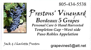 Preston's Vineyard